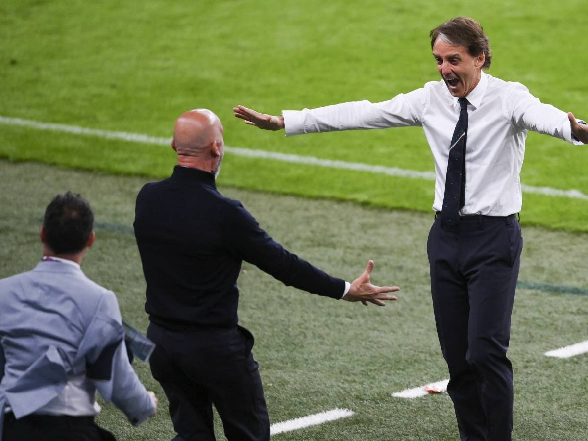 Cosa c'è dietro l'abbraccio tra Mancini e Vialli: il rimpianto di Wembley